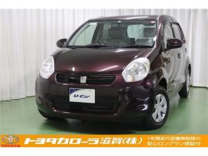 トヨタ パッソ X ユルリ メモリーナビ ETC車載器 ベンチシート