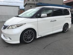 ホンダ エリシオン X TEIN車高調 アルパインフリップダウンモニター