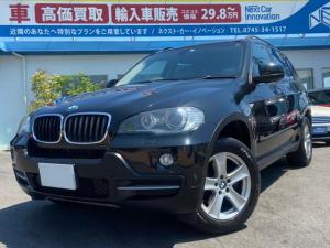 BMW X5 3.0si 4WD 本革シート