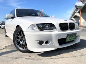 BMW 3シリーズ 318i 5速MT end.cc M3タイプフルエアロ ローダウン クリアレンズ 2本出しスーパースプリントマフラー トランクスポイラー 後期テール 17AW ETC ラジエーター・電動ファン・Rタンク新品交換