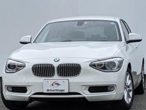 BMW 1シリーズ 116i スタイル 純正ナビ/フルセグTV/Bカメラ/スマートキー/アイドリングストップ/DVD再生/録音機能/ETC/HID/車検整備付き