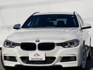 BMW 3シリーズ 320dツーリング Mスポーツ 禁煙1オーナー/アダプティブクルーズコントロール/純正HDDナビ/パワーバックドア/パワーシート/純正18アルミ/HID/パドルシフト/Bluetooth/DVD/AUX/USB/コンフォートアクセス