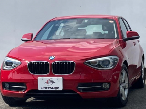 BMW 1シリーズ 116i スポーツ 禁煙1オーナー/屋根付き車庫保管/純正HDDナビ/Bluetooth/DVD再生/USB/ETC/プッシュスタート/アイドリングストップ/HID/純正16アルミ/Bカメラ/車検R5年3月