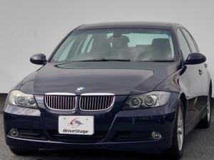 BMW 3シリーズ 323i ハイラインパッケージ HDDナビ/禁煙車/HIDヘッドライト/本革シート/シートヒーター/プッシュスタート/キーレス/ETC/DVD再生/オートライト/純正16インチアルミ/オートエアコン