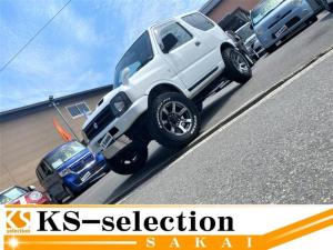 スズキ ジムニー  ジムニー XC 4WD 社外ナビ フルセグ 社外ホイール リフトアップ 純正キーレス ターボ 4WD MOMOステアリング パワーウィンドウ ETC