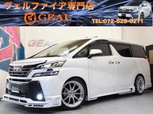 トヨタ ヴェルファイア 2.5ZAゴールデンアイズROWENコンプ新品20AW車高調