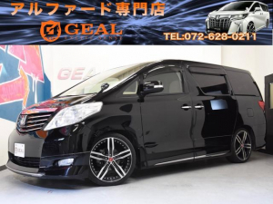 トヨタ アルファード 240Xモデリスタコンプリート20AWローダウンリアモニター
