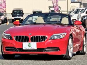 BMW Z4 sDrive23i /E89/リトラハードトップ/バイキセノンヘッド/LEDリヤコンビ/18AW/ポテンザRFT/本革/シートヒーター/スポーツシート/8.8型フルセグナビ/PDC/シフトパドル/ETC