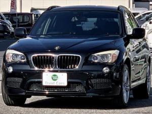 BMW X1 sDrive 18i Mスポーツパッケージ エアロ/キセノンヘッド/LEDリヤコンビ/フォグ/18AW/スポーツサス/アルミパネル/スポーツシート/レザーステア/ETC/コンフォートアクセス/車検整備付