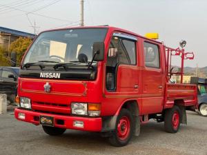 日産 アトラストラック 消防車