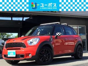 MINI クーパーS クロスオーバー プッシュスタート・ナビ・TV・ETC・レッドブラックツートンカラー