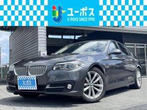 BMW 5シリーズ 523dグレースライン ディーゼルターボ 禁煙・純正ナビ・地デジ・革シート・パワーシート・バックカメラ・ETC・パワーステアリング・パワーウインド