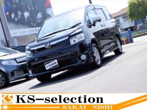 トヨタ ヴォクシー ZS 煌 両側電動スライドドア HDDナビ ワンセグ AUX入力 ミュージックプレイヤー再生 バックカメラ スマートキ― HID ETC