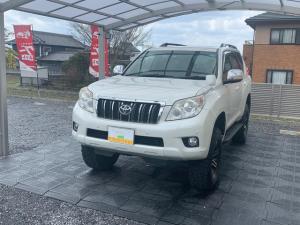 トヨタ ランドクルーザープラド TX/リフトUP/サンルーフ/寒冷地仕様/クルコン