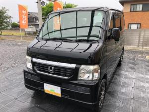 ホンダ バモス M・社外ナビ・TV・ETC・タイベル交換済・両側スライド