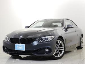 BMW 4シリーズ 420iクーペ スポーツ 全国対応1年保証付き 屋根付保管 純正ナビ 赤革シート パワーシート シートヒーター アダクティブクルーズコントロール バックカメラ ETC パドルシフト