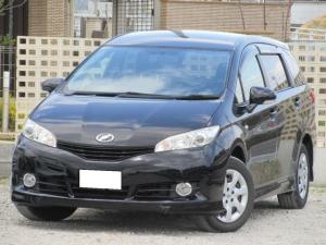 トヨタ ウィッシュ 1.8X 走行6.2万キロ・H22年式・ブラック・禁煙車・プッシュスタート・ナビ・ETC・TV・DVD・Bluetoothオーディオ・バックカメラ
