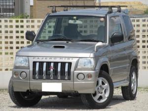 三菱 パジェロミニ デューク 走行2.4万キロ・デューク・4WD・ターボ・禁煙車・TV・DVD・ナビ・ETC・ルーフキャリア付