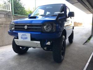 スズキ ジムニー XG ターボ・4WD・ナビ・ETC・BTオーディオ・ETC・エンジンスターター・社外フロント・リヤバンパー・リフトUP・スキッドプレート・マフラー・16インチアルミホイールM/Tタイヤ・HID・テールランプ
