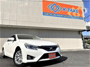 トヨタ マークX 250G 社外SDナビ/フルセグ/バックカメラ/HIDヘッドライト/スマートキー/パワーシート/純正16AW/純正ビルトインETC/オートライト/Bluetooth接続
