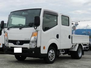 日産 アトラストラック  Wキャブ 左電動格納ミラー ETC 積載1.25t 総重量5t未満