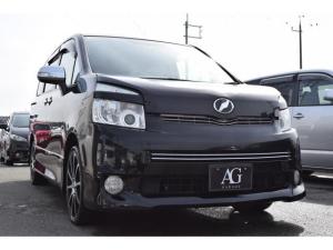 トヨタ ヴォクシー ZS 煌II ETC DVDナビ 盗難防止装置 HIDライト フルエアロ アルミホイール 両側電動スライドドア