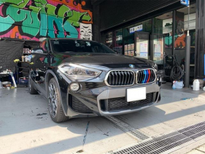 BMW X2 sDrive 18i MスポーツX IDriveナビ バックカメラ シートヒーター ミラーETC コンフォートアクセス LEDヘッドライト コンフォートパッケージ 取扱説明書 整備手帳 エアバック キーレス 電動バックドア Mスポーツ