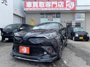 トヨタ C-HR G 本革 9インチナビ TRDフルエアロ