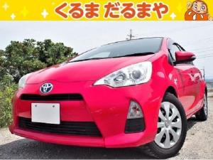 トヨタ アクア S 1T 保証付 修復歴無 ETC バックカメラ 禁煙車
