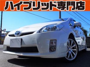 トヨタ プリウス S 保証付 修復歴無 ナビ ETC バックカメラ DVD再生