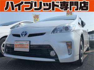 トヨタ プリウス S 3J 保証付 修復歴無 フルセグTV ETC DVD再生