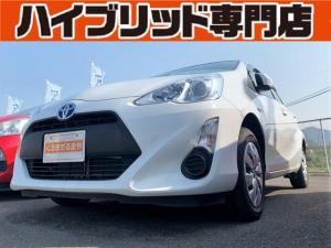 トヨタ アクア L 4L 中期 保証付 修復歴無 禁煙車HIDヘッド ETC