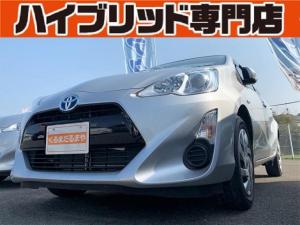 トヨタ アクア S 4Q 保証付 修復歴無 ETC ナビ