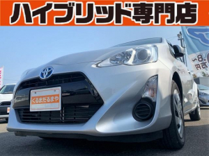トヨタ アクア S 4S 保証付 修復歴無 ナビ バックカメラ 横滑り防止装置 車両接近通報装置 スマートキー ECOモード EVモード