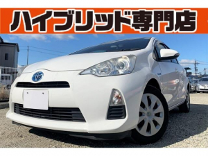 トヨタ アクア S 4Z 保証付 修復歴無 車両接近通報装置 ETC キーレス EVモード ECOモード メモリーナビ