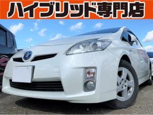 トヨタ プリウス S 4V 保証付 修復歴無 バックカメラ ETC スマートキー ワンセグTV 純正AW 禁煙車