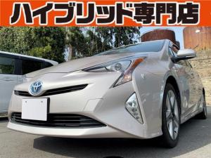 トヨタ プリウス Sツーリングセレクション 2A 保証付 修復歴無 スマートキー プッシュスタート 横滑り防止装置