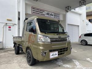 ダイハツ ハイゼットトラック ジャンボSAIIIt 届出済未使用車/4WD/ハードカーゴ/リフトアップ/MLJ14インチAW
