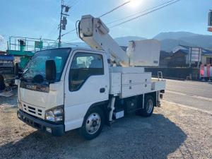 いすゞ エルフトラック 高所作業車 タダノAT110TE  電工仕様