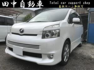 トヨタ ヴォクシー X Lエディション 4WD  Bluetooth ナビ