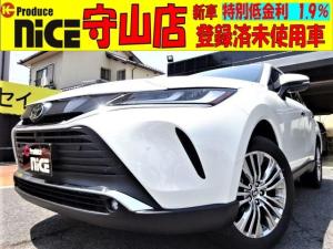トヨタ ハリアー Z 新車・純正12型ナビ・Bluetooth・パノラミックビューモニター・前後ドラレコ・Dインナーミラー・ETC2.0・JBLサウンドシステム・ハーフレザーシート・19インチアルミ