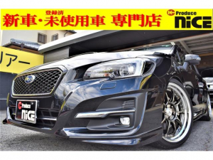 スバル レヴォーグ 1.6GT-Sアイサイト 純正エアロパッケージ(フロントグリル+フロントスカート+リヤディフューザー)・SSR19インチAW・車高調・8型フルセグナビ・ドラレコ・アイサイト・衝突軽減・Bluetooth・バックカメラ・ETC