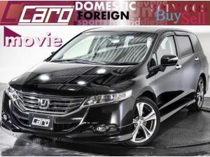 ホンダ オデッセイ MX・エアロパッケージ ワンオーナー/メーカーインターナビ・フルセグTV・DVD・バックカメラ・Bluetooth・18インチアルミホイール・スマートキー・キセノンヘッドライト・オートライト