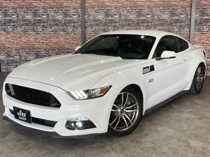 フォード マスタング V8 GT プレミアム 新車並行・ブラックフルレザーシート・シートヒーター&クーラー・クルーズコントロール・純正18AW・バックモニター・Bluetooth・エンジンスターター付きキーレス・HID・パドルシフト・禁煙・修復無
