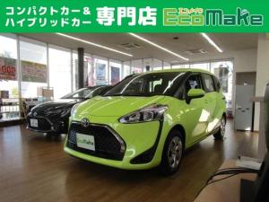 トヨタ シエンタ X 登録済未使用車 セーフティS スマートエントリー 禁煙車