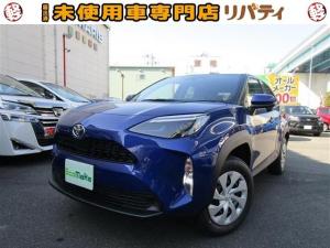 トヨタ ヤリスクロス X 登録済未使用車 禁煙車 衝突軽減ブレーキ