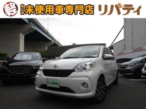 トヨタ パッソ X Gパッケージ 衝突軽減ブレーキ 純正ナビ Bカメラ