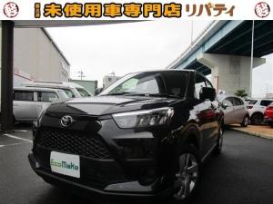 トヨタ ライズ X S 登録済未使用車 禁煙車 衝突軽減ブレーキ