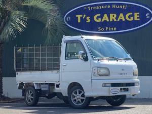ダイハツ ハイゼットトラック スペシャル 4WD 5MT エアコン 3方開 フォグライト