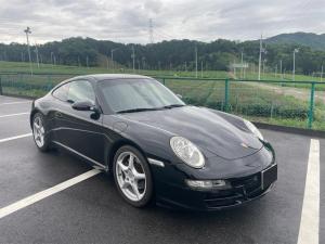 ポルシェ 911 修復歴なし スポーツクロノパッケージ左H 正規車 記録簿あり